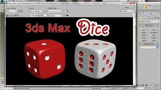 3ds Max Dice - Easy Beginner Tutorial