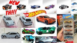 Hot Wheels 2019 Treasure Hunt, K Case Cars, New 5 Pack,... Hot Wheels News!!!