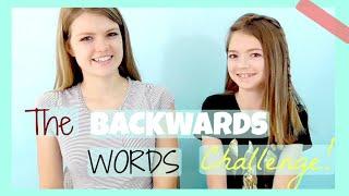 Backwards Words Challenge!
