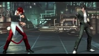 IORI YAGAMI CLASSIC VS KYO KUSANAGI CLASSIC (KOF XIV) THE KING OF FIGHTERS XIV GAMEPLAY DLC COSTUME