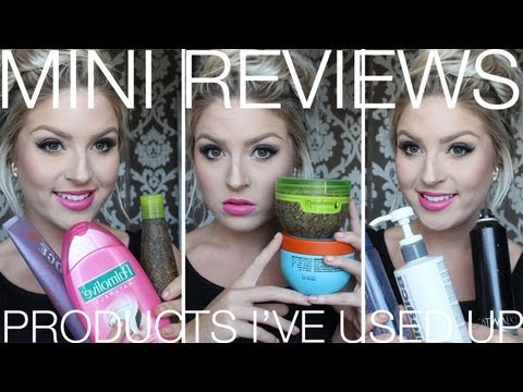 November Empties (And Beyond) ♡ Mini Reviews