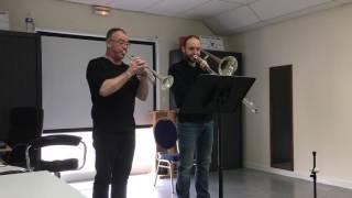 Duet Trumpet & Trombone Jack Gale n°5