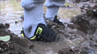 my SNEAKERS love MUD and WATER :-D