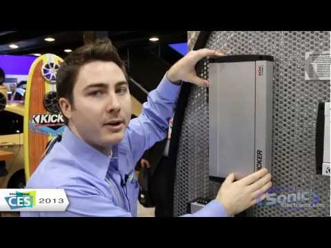 Kicker KX Car Amplifiers (Mono, 2, 4, & 5 Channel Amps) | CES 2013