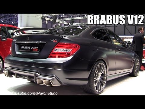 2013 Brabus Bullit Coupè 800 V12 – 2012 Geneva Motor Show