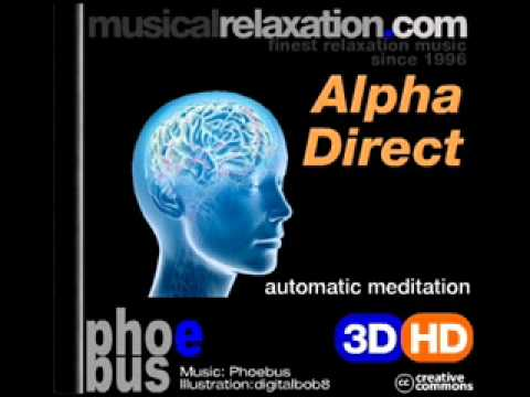 Alphadirect  Brainwave Relaxation Music video