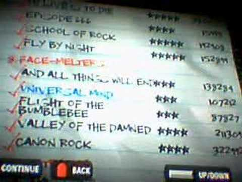Guitar Hero 5 Song List. Guitar Hero 2 Custom: My Song