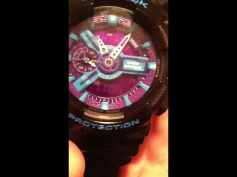How to set up a g shock watch