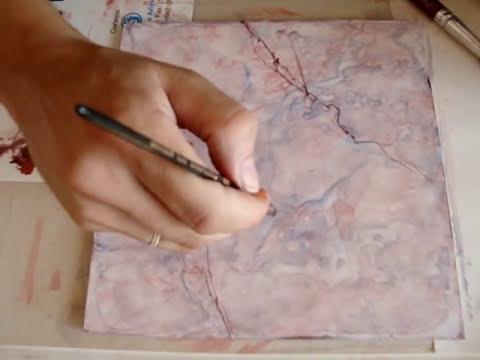 Mauro Tavares pintura decorativa marmore