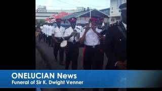Funeral parade of Sir K. Dwight Venner