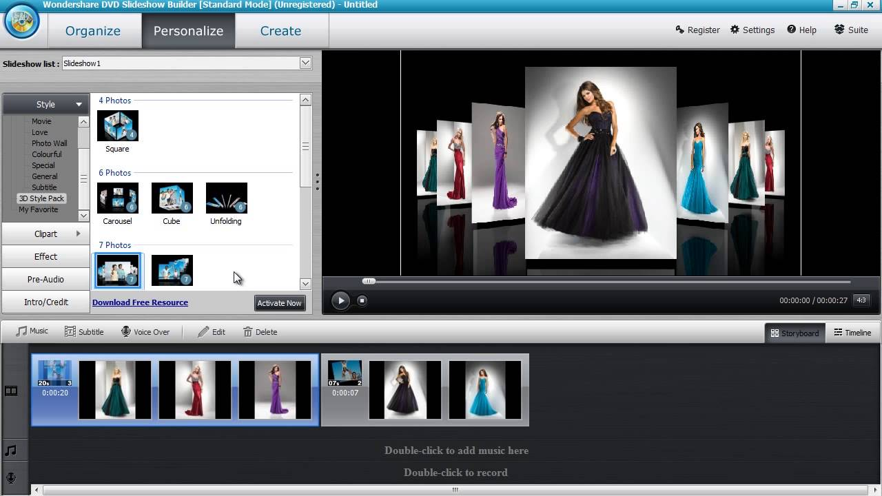 Easy Video Slideshow Maker Software Youtube
