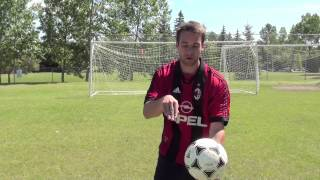How To Head A Soccer Ball Tutorial
