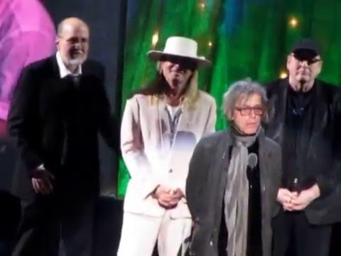 2016 Rock & Roll Hall of Fame Complete Cheap Trick Induction Speech