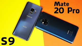 Huawei Mate 20 Pro vs. Samsung Galaxy S9 - Display & Performance Test (Deutsch)