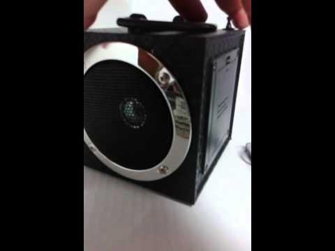 Caixa de som yy-02 Portatil Mp3 USB pen drive radi