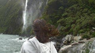 REMOVE STRESS. FALL ASLEEP FAST.  Meditation Music, Relax Mind Body & Soul. Beautiful Waterfalls.