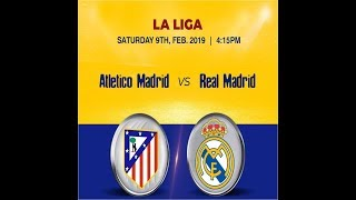 Watch Real Madrid Vs Atletico Madrid Live Now for Free