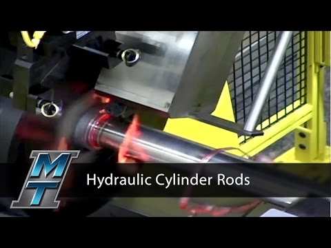 Direct Drive Friction Welding of Piston Rods - Manufacturing Technology, Inc