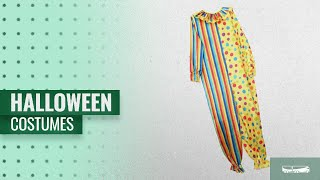 Magideal Men Halloween Costumes [2018]: MagiDeal Funny Adult Circus Clown Costume Comedy Spotted