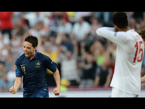Nasri scores as England and France draw in Donetsk