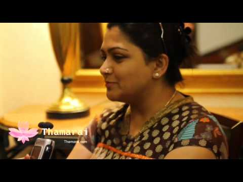 Chit Chat with Ashanti OMkar on Thamarai.com - Khushboo Part 1