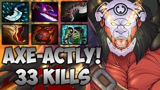 Agressif AXE-ACTLY 33 FRAGS - Dota 2 Highlights TV