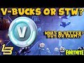 foto Buy V-Bucks?! Or Save The World? (Fortnite)