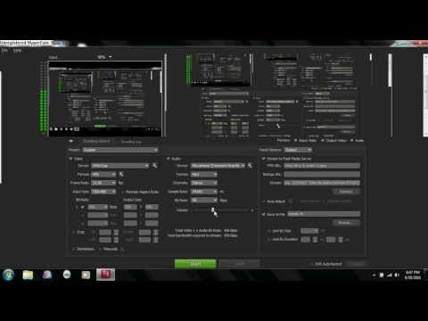 Twitch.tv Stream Using Flash Media Live Encoder Tutorial!