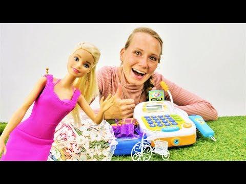 Барби устроила распродажу. Мультики для девочек. Видео с куклами.