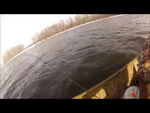 GoPro Mississippi River Fishing Sand Pike