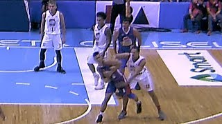 Jalalon and McCarthy scuffle | PBA Commissioner's Cup 2018