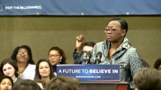 Nina Turner: Bernie Sanders is a Champion for Civil Rights