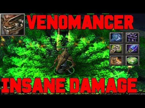DOTA VENOMANCER Aghanim's Scepter INSANE DAMAGE (GOOD GAME)