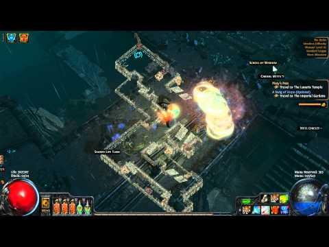 Path of Exile: Tornado Shot - Shrapnel Shotgun - Docks Merciless