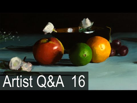 """The Myth of """"Natural Talent"""" & more – Ep.16 Oil Painting Q&A with Mark Carder"""