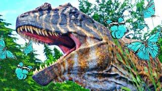 A História do T-Rex Raimundo: Bebê Estrategista, Levei o Giga pra Cocó! Dinossauros The Isle (PT/BR)