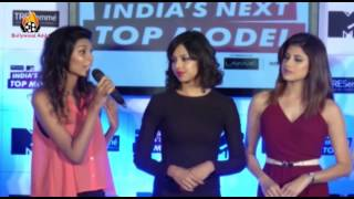 Lisa Haydon - Dabboo Ratnani - Press Conference - India's Next Top Model