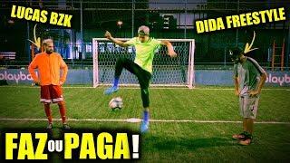 ZERINHO DUPLO INVERSO - FAZ ou PAGA #6 (feat. Brazil Kickers & Futebol de Rua HD)