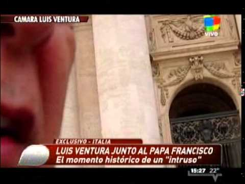 La emoción de Ventura tras su encuentro con el Papa Francisco