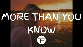 TRADUCTION FRANÇAISE Axwell Λ Ingrosso - More Than You Know