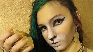 Lion make-up / Maquillage de lion
