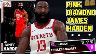 *NEW* PINK DIAMOND JAMES HARDEN GAMEPLAY! A PURE GOD! NBA 2k19 MyTEAM
