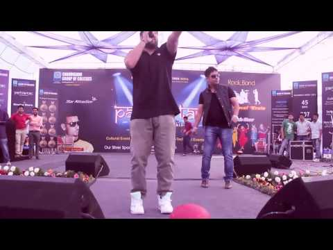 BADSHAH LIVE AT CGC LANDRAN CHANDIGARH