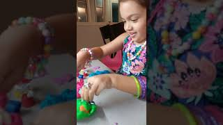 Play doh and sand discovering toys