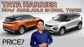 Tata Harrier Dual Tone Launched | Price in India | The MG Hector Effect