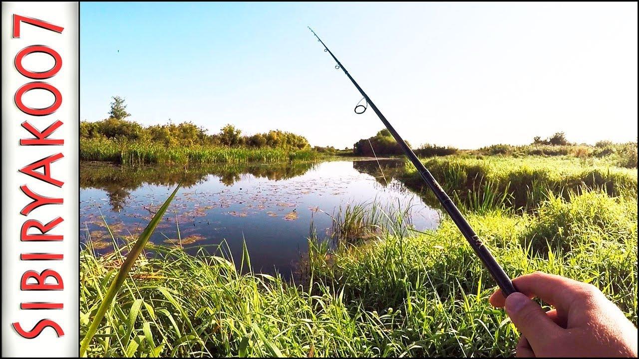 ловля щуки в траве на мелководье спиннингом видео