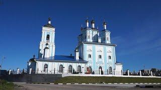 Великое освящение храма Казанской иконы Божией Матери в Шексне.