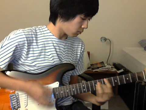 how to play seaside by the kooks on guitar