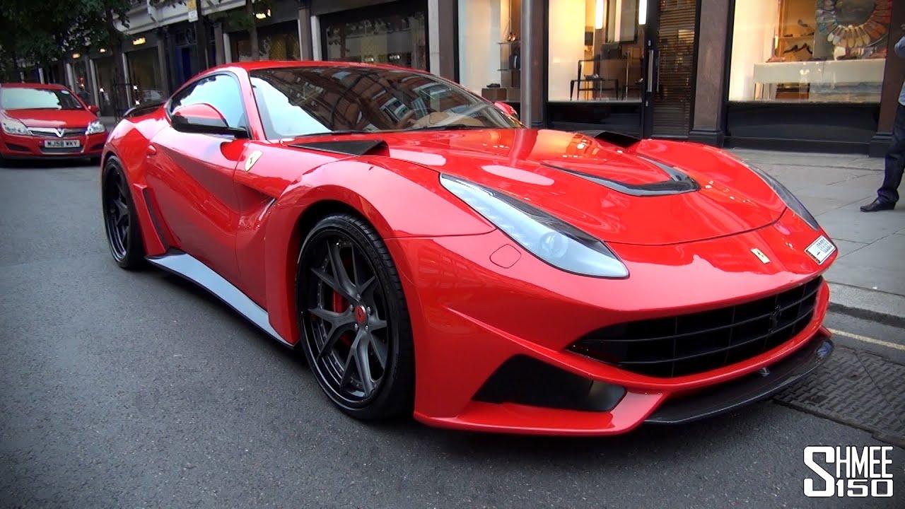 Novitec N Largo Ferrari F12 Arrives In London Youtube