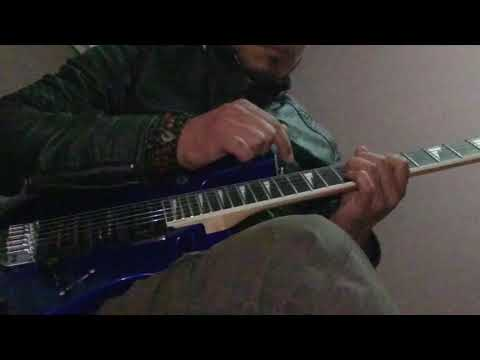 The Local Train dil nawaz//Guitar||intro//and solos//with Ibanez Lead guitar//dilnawaz new song